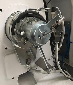 Granulator GR: Sprzęgło przeciążeniowe z systemem centalnego smarowania