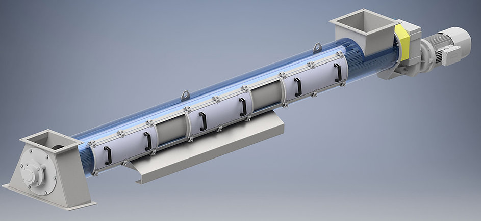 Wybierak sterylizatora poziomego (Nawrocki Pelleting Technology)