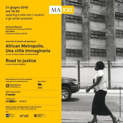 African Metropolis, MAXXI   Onyis Martin & Paul Onditi