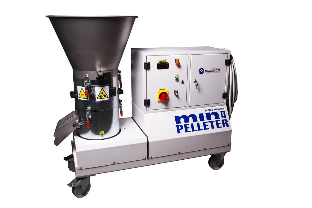 Peleciarka do biomasy typu miniPelleter 18.G2