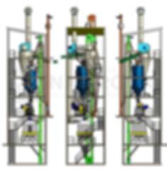 Granulowanie pasz: Rzuty wieży do produkcji pasz granulowanych