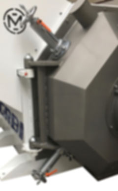 Nawrocki Pelleting Technology - Pellet mill cove with 2 knifes