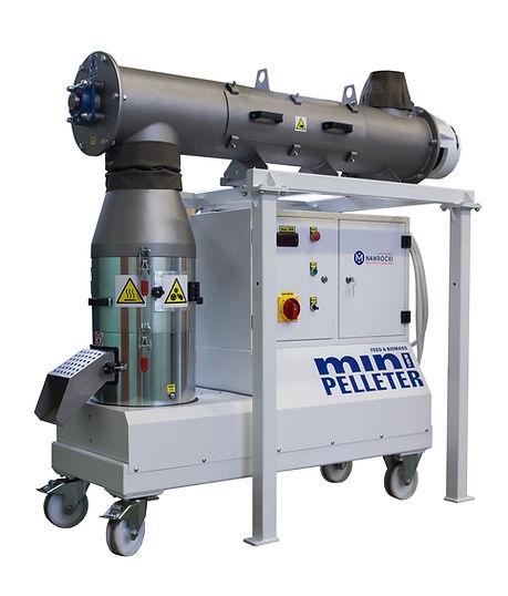 Nawrocki Technologie Granulowania miniPelleter z kondycjonerem pelleciarka
