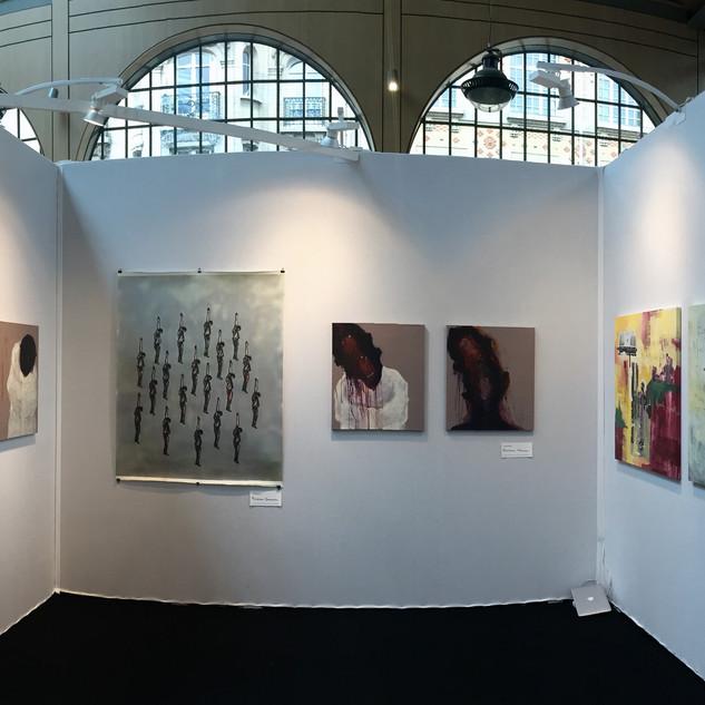 YIA Art Fair | DAVID THUKU, PETERSON KAMWATHI, BEATRICE WANJIKU, LONGINOS NAGILA, ONYIS MARTIN