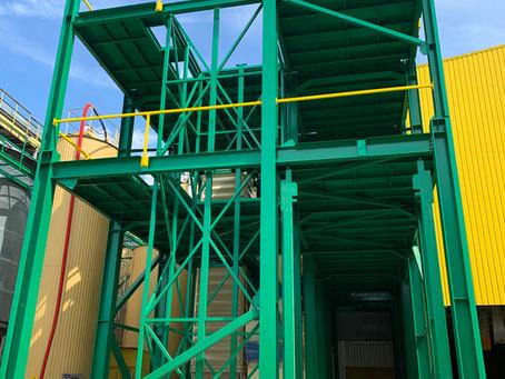 Wieża technologiczna dla mieszalni i granulacji pasz