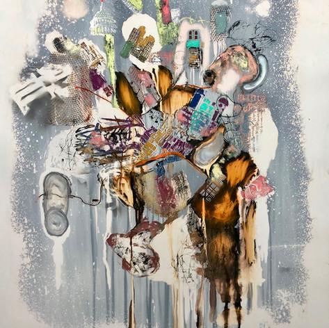 1:54 Contemporary African Art Fair, London   Paul Onditi