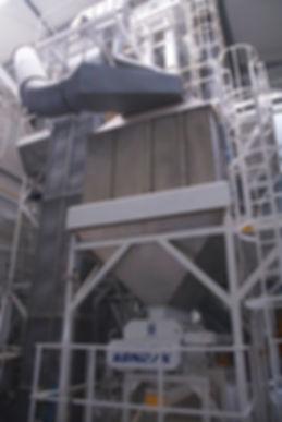 Chłodnica przeciwprądowa 2OCP owydajności 12 t/h