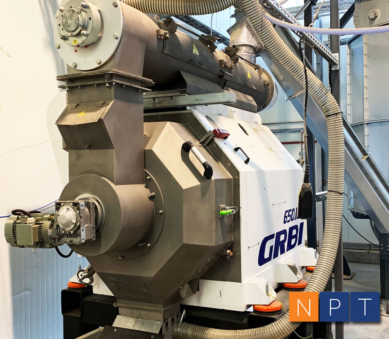 Pellet mill NPT GRB1 650.160 up to 2 t/h