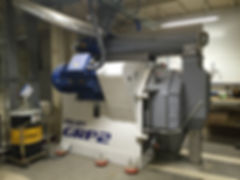 Granulator GRP2 750.264 z Nawrocki Technologie Granulowania -max 17 t/h