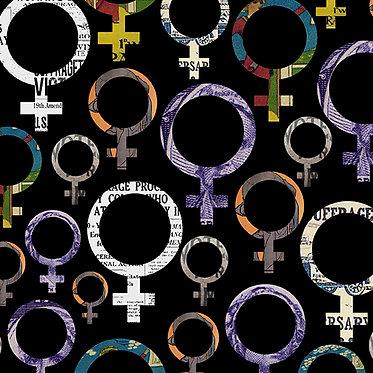 Votes For Women: Venus Symbol Medium