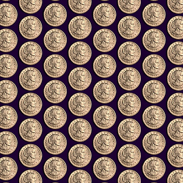 Votes For Women: Coin Purple
