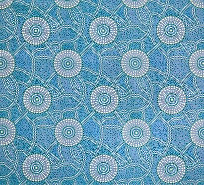 Kangaroo Path Blue by Roseanne Morton