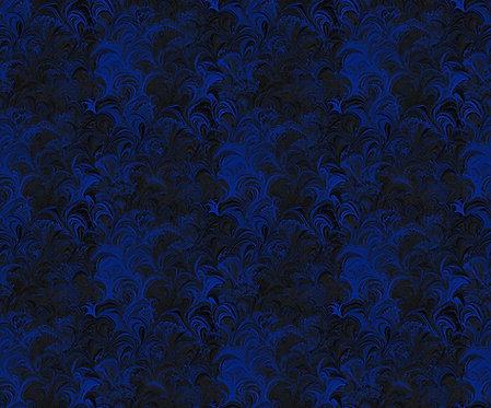 Poured Color: Cosette Blue Black