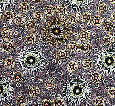 Onion Dreaming Purple by Doris Inkamalab