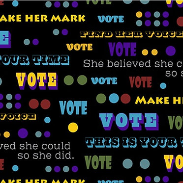 Votes For Women: Words to Vote By
