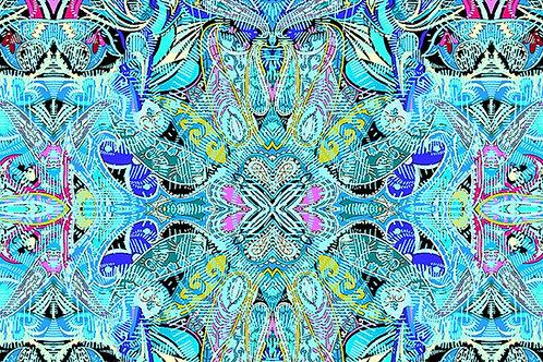 Duets: Concertina Blue Multi