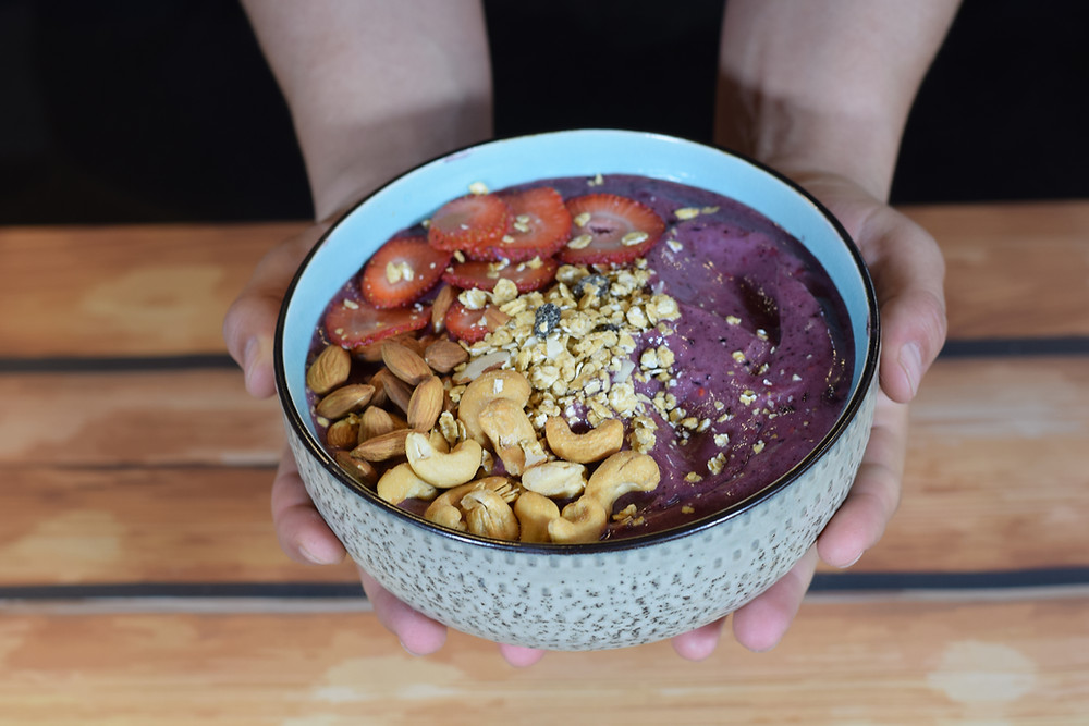 One of the Acai Smoothie Bowl, that you can find in our location