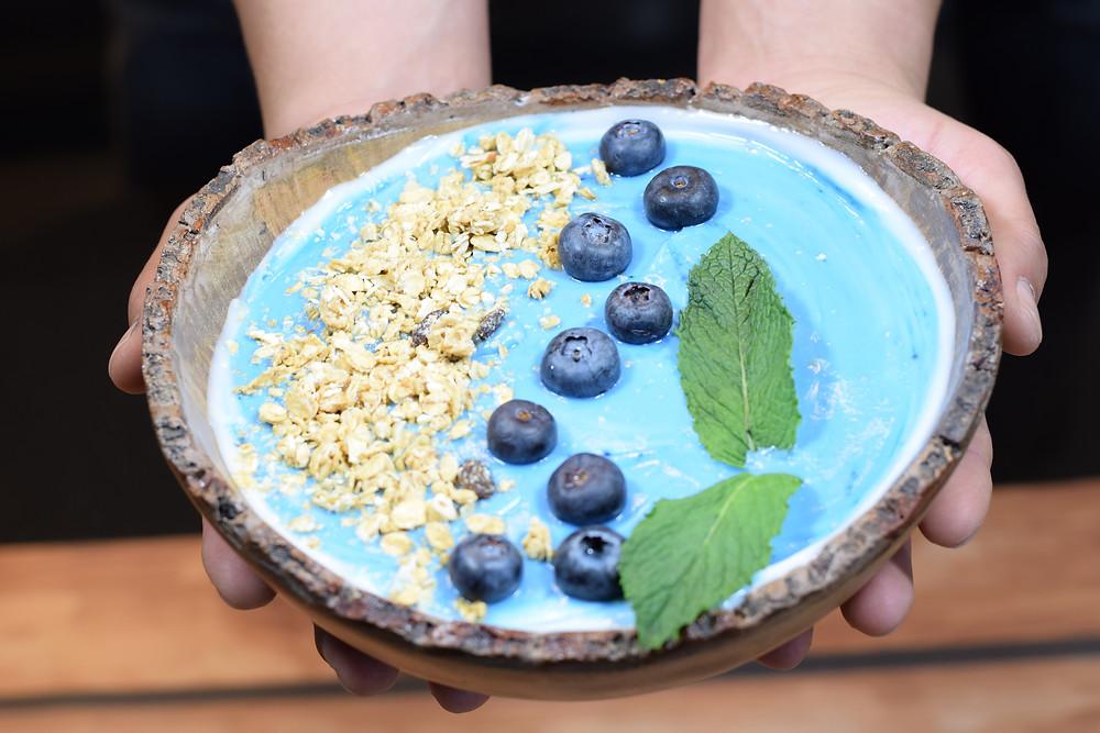 Blue Majik yogurt bowl