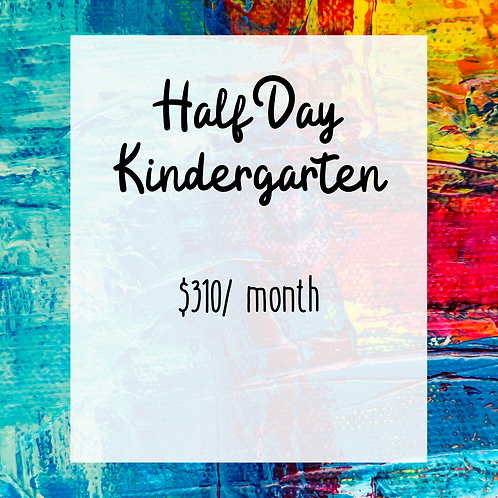 Half Day Kindergarten