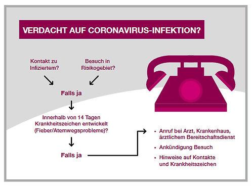 Magnetfolier VERDACHTSINFORMATION | Querformat