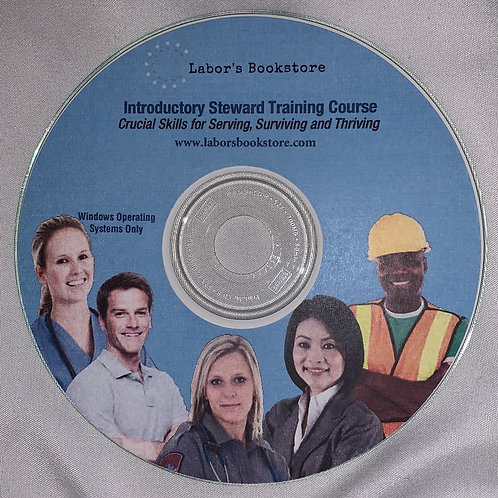 Introductory Steward Training Course CD For Windows Operating System