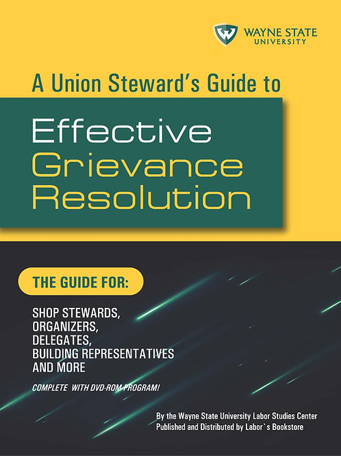Effective Grievance Resolution DVD, includes downloadable PDF