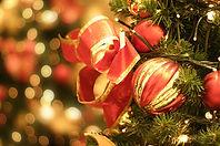Decoraciones Navideñas rojas
