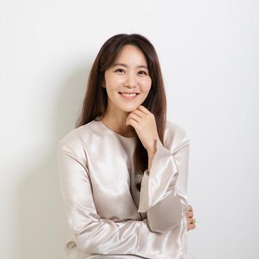 박지윤 프로필 촬영