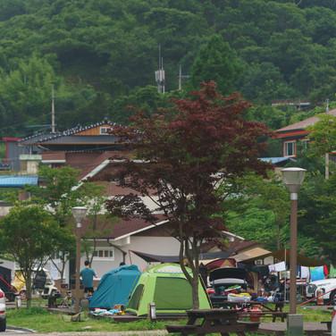 지리산 캠핑장