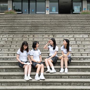 학교 도록촬영