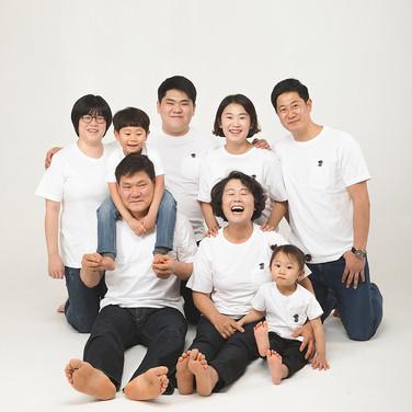 스튜디오 가족사진