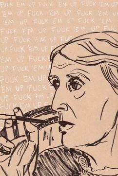 Fuck 'Em Up Virginia Woolf