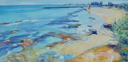 Karatta Beach Original painting by Jessie