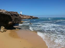 Lighthouse from Glass Beach