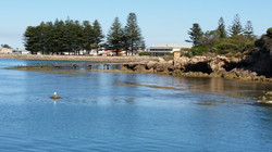 Robe Hotel and foreshore
