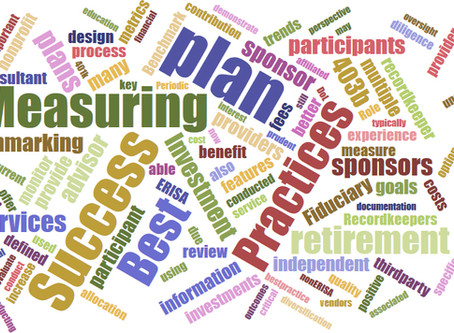 Defined Contribution Plans: Measuring Success