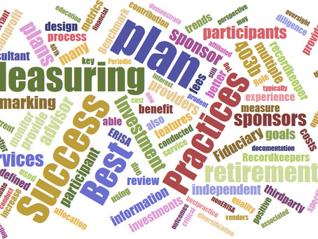 Defined Contribution Plans: Measuring Success