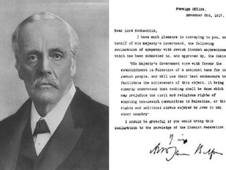 """The Mancunion: """"Another look at the Balfour Declaration"""""""