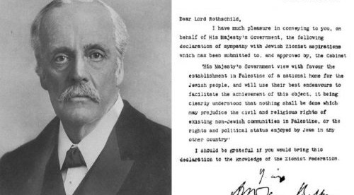 "The Mancunion: ""Another look at the Balfour Declaration"""