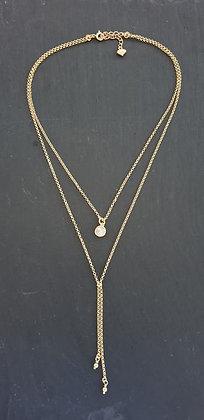 Kette Doppio Silber925 vergoldet