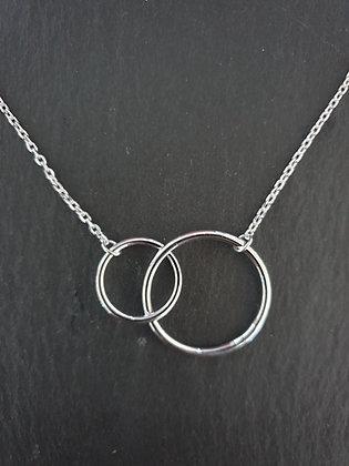 Kette Doppel Kreis Uniti Silber925