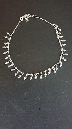 Tröpfli  Fussketten Silber 925