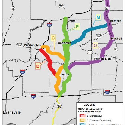 Fighting a Proposed New Highway in SW Indiana to Save Our Towns