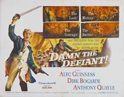 "Film poster for ""Damn The Defiant!"" ​"