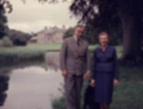 Mountbatten & Edwina at Broadlands 