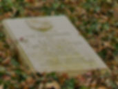 The memorial plaque to Mountbatten at the grave of  his grandparents at Heiligenberg