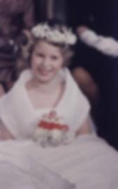 Princess Anne - a bridesmaid