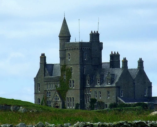 Classiebawn Castle, Mullaghmore, Co.Sligo (The Mountbattens' holiday home in Ireland close to where Mountbatten was murdered)