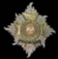 The insignia of a Knight Grand Cross of the Honourable Order of the Bath (GCB) -  Military Division 