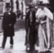 ​ King George V, Queen Alexandra & Queen Mary at the wedding of Mountbatten & Edwina ​
